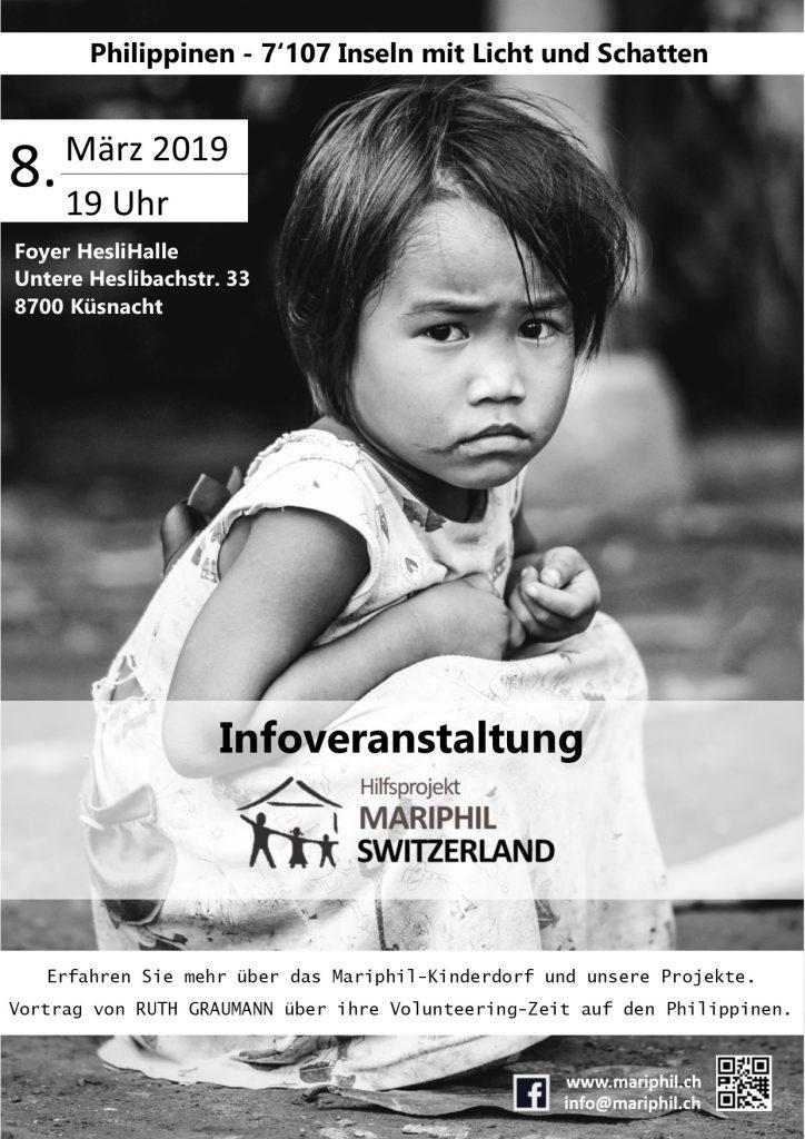 Flyer Mariphil Switzerland Kuesnacht 8.3.2019